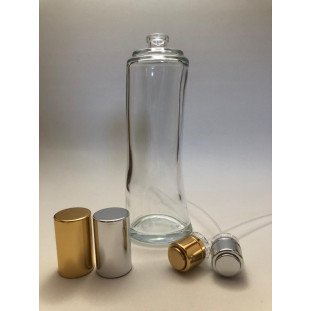 Conjunto Frasco Vidro Recrave Angel (frasco + válvula) - 100ml - T.15mm