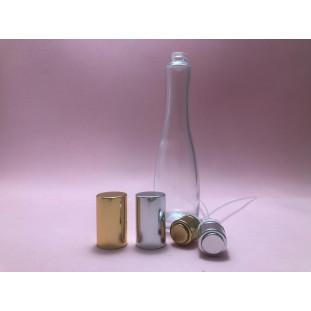 Conjunto Frasco Vidro Recrave Flores (frasco + válvula) - 50ml - T.15mm