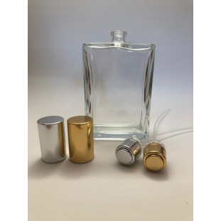 Conjunto Frasco Vidro Recrave Roma (frasco + válvula) - 100ml - T.15mm